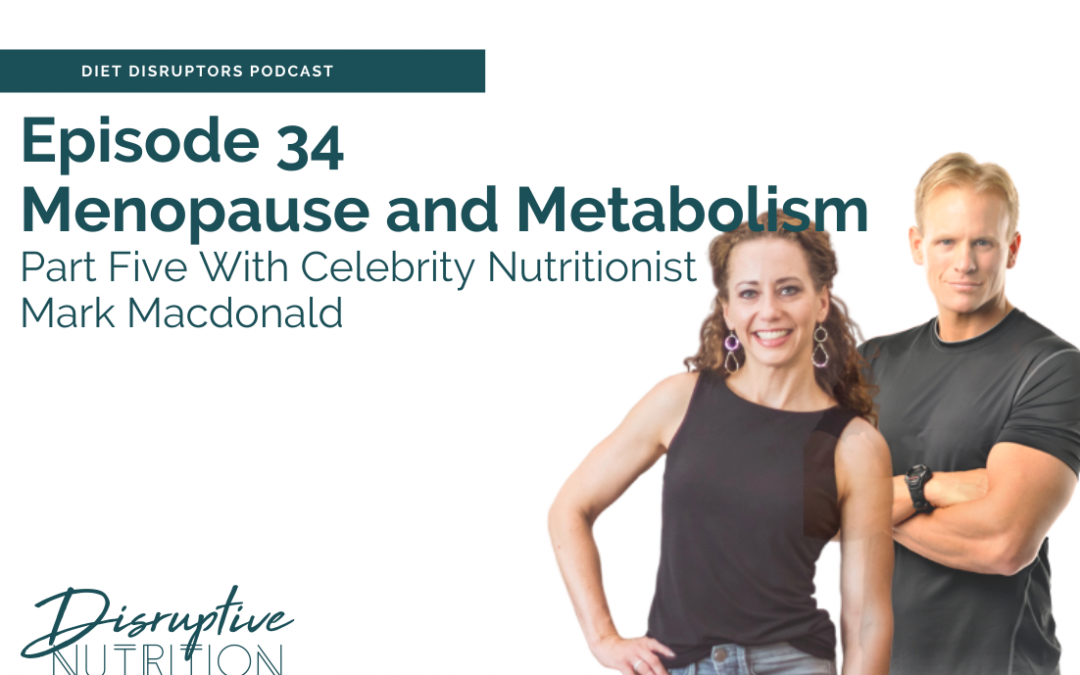 Episode 34: Part 5 of Menopause and Metabolism-Stress