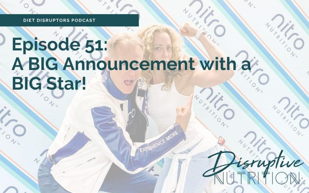 Episode 51: A BIG Announcement with a BIG Star!